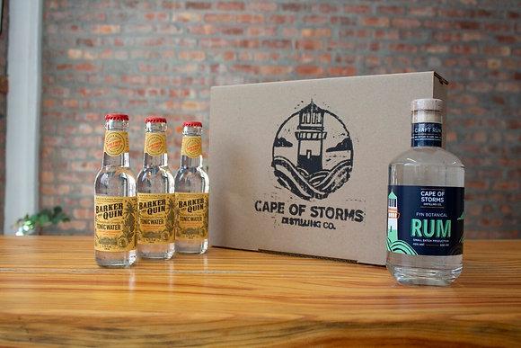Fyn Botanical Rum - Barker & Quin Honeybush Orange Tonic Home Tasting Kit
