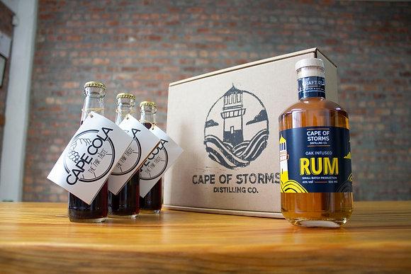 Oak Infused Rum - Cape Cola Home Tasting Kit
