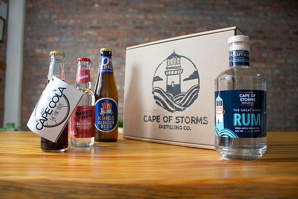The Great White Rum - Mixed Home Tasting Kit