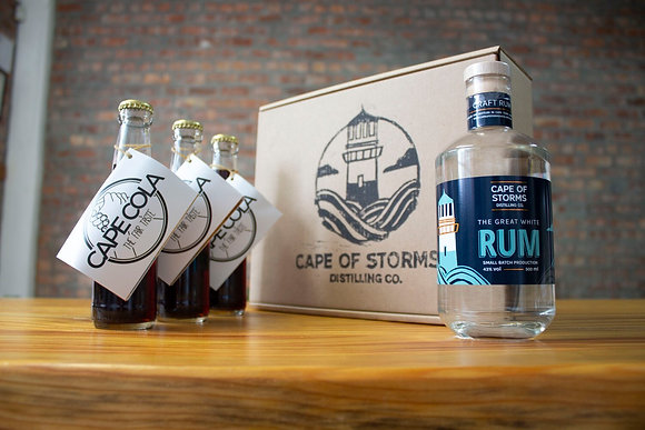 The Great White Rum - Cape Cola Home Tasting Kit