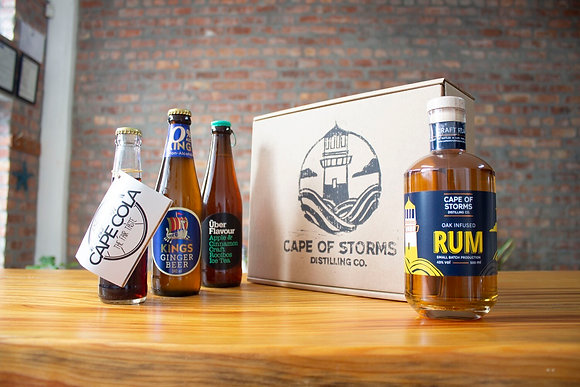 Oak Infused Rum - Mixed Home Tasting Kit