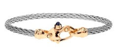 Nouveau Braid® Cable Bracelet with 14K Yellow Gold Mariner's Clasp®