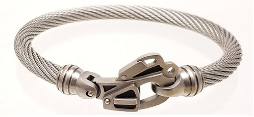 Live Wire Cable Bracelet with Rescue Clasp®