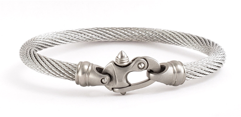 Live Wire Cable Bracelet with Mariner's Clasp®