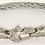 6MM Live Wire Bracelet with Mariners Clasp in White Steel