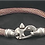 Thumbnail: PVD Live Wire Cable Bracelet with Mariner's Clasp®