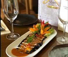 Siam Brasserie dish