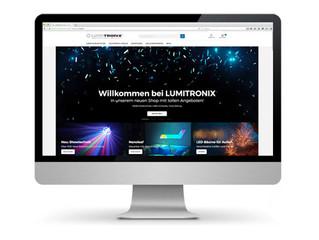 Lumitronix Shop-Relaunch
