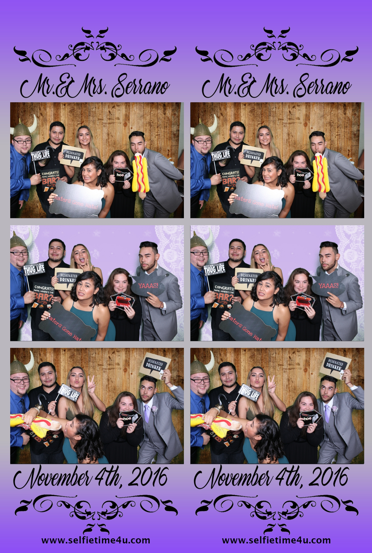 Fun at the wedding