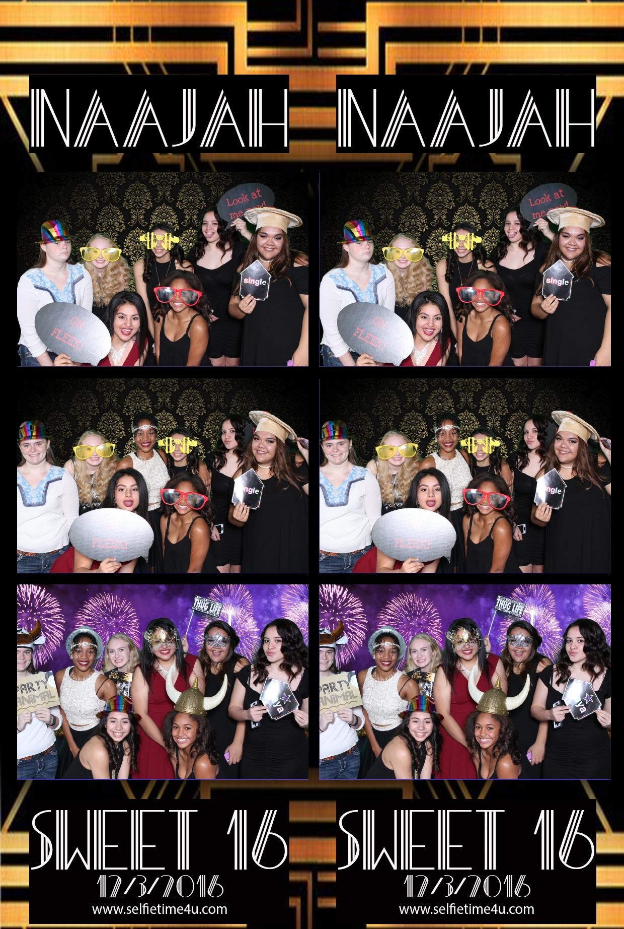 sweet sixteen fun party