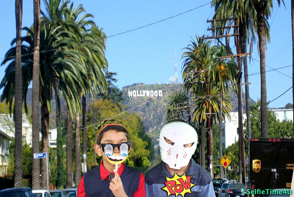 Hollywood Sign Background
