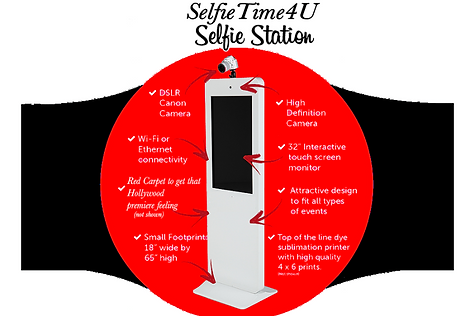 SelfieTime4U Photo Booth Selfie Station