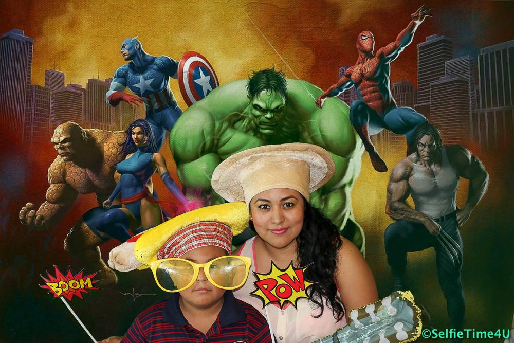 Super Heroes Background
