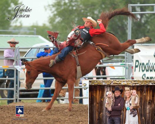 Jessy Davis - PRCA Bareback Rider