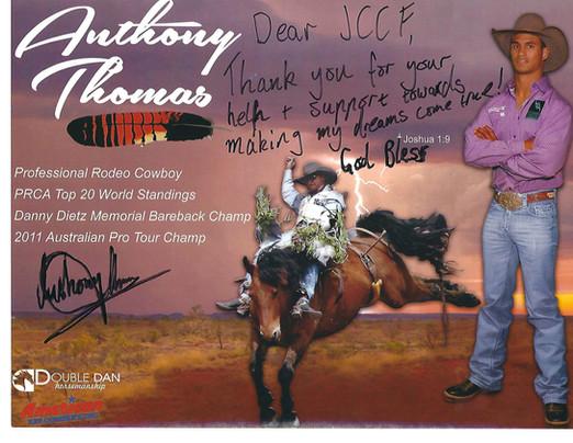 Anthony Thomas - PRCA Bareback Rider