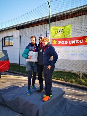 NOVOLETNI SLO TRAIL 2020 po dolgem psihičnem okrevanju prva trail medalja