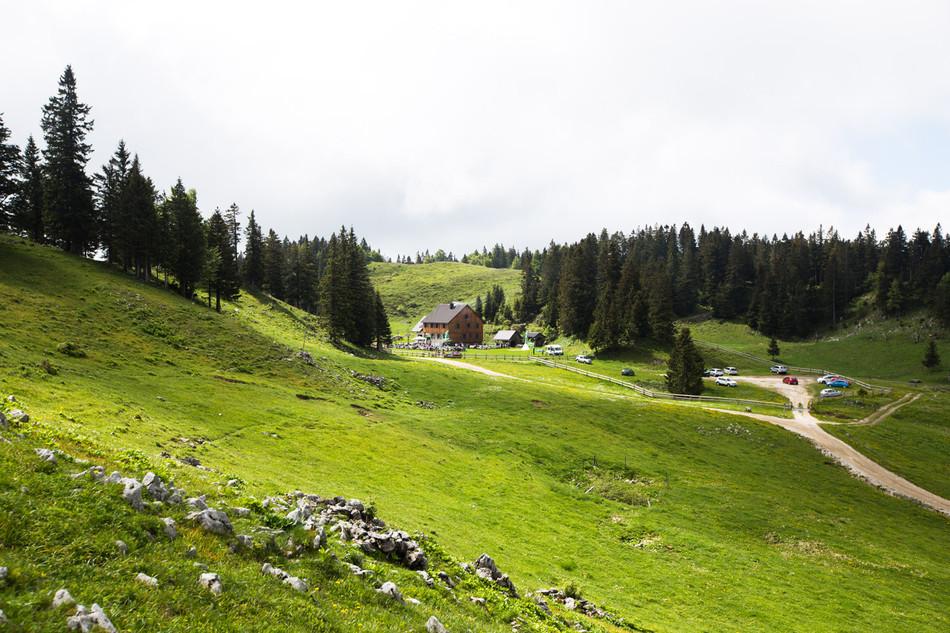 #standupmaratonec na Zlatorogovi poti 12: Menina planina