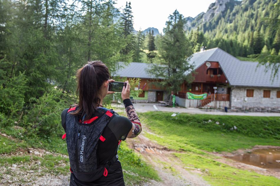 #standupmaratonec na Zlatorogovi poti 32: Planinski dom na Zelenici