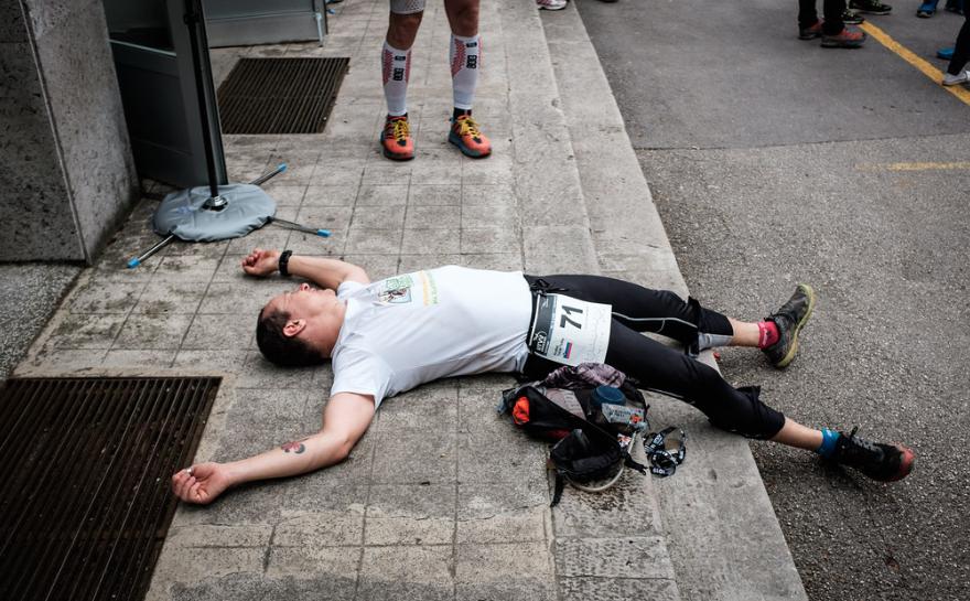v cilju mrtev, foto: Tadej Maligoj
