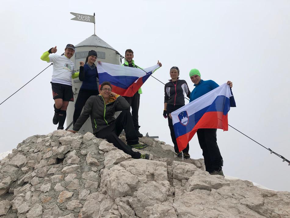 #standupmaratonec na Zlatorogovi poti 33: Kredarica, Triglav in Planinski muzej