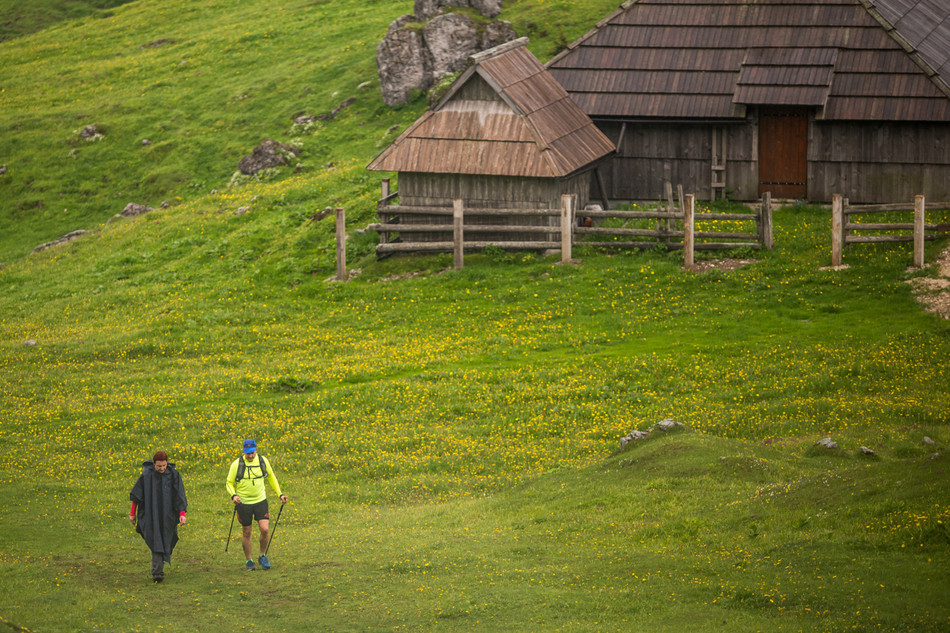 #standupmaratonec na Zlatorogovi poti 10: Domžalski dom na Mali Planini