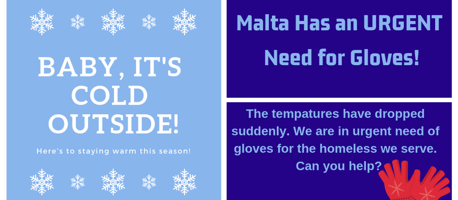 Urgent Need for Winter Hats & Gloves