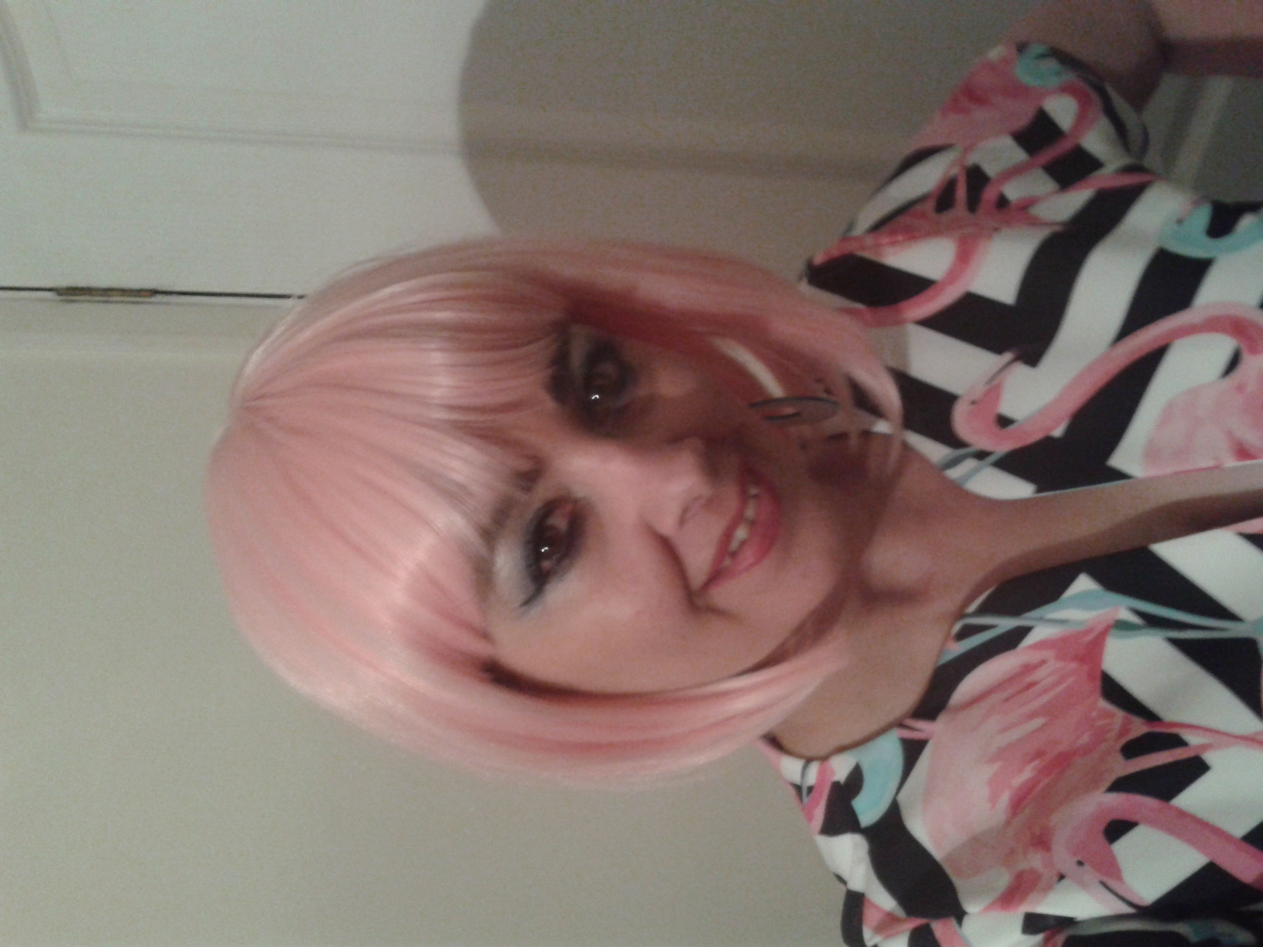 Leah- flamingo hair-60s band Kent