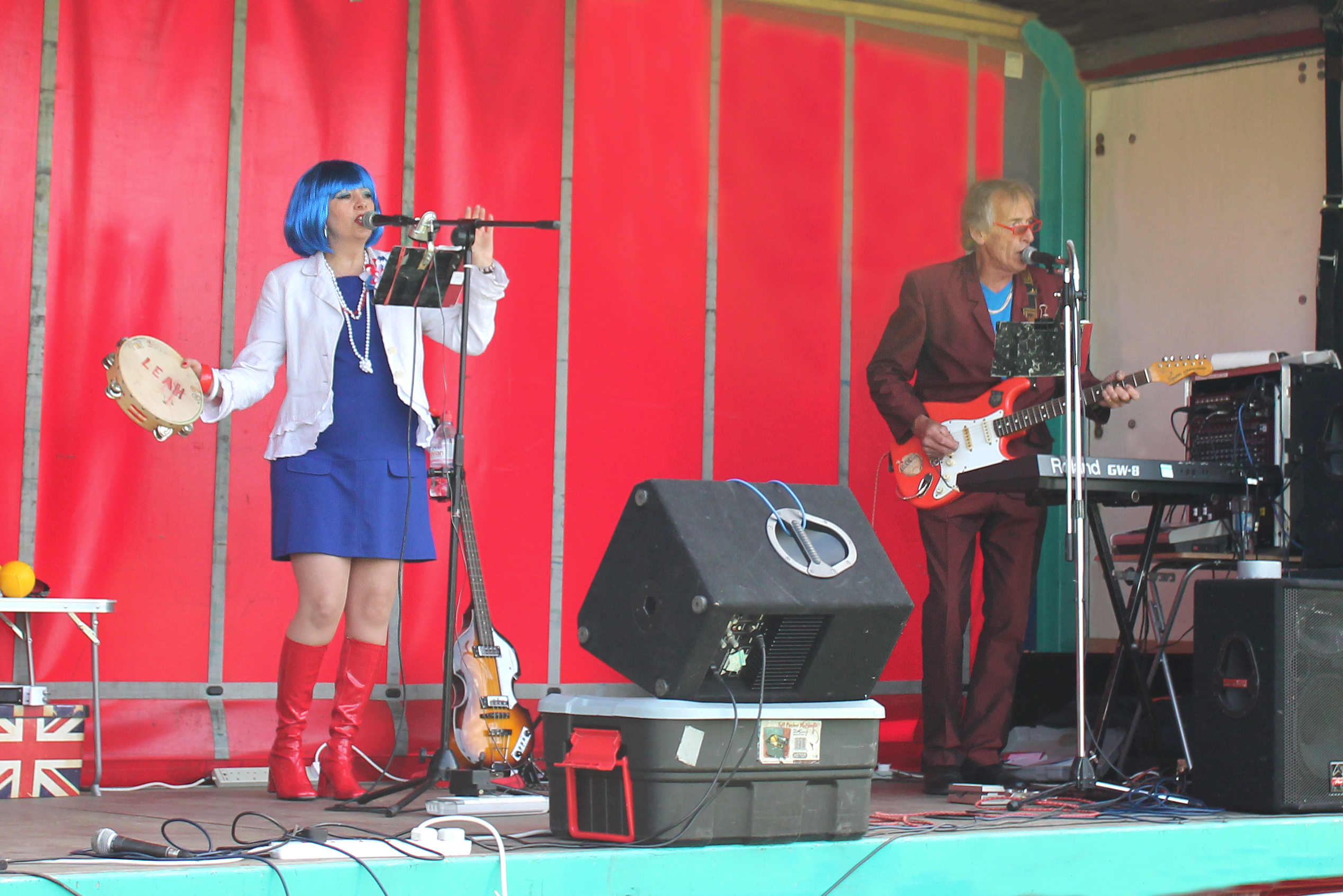 Swinging 60s band performing live