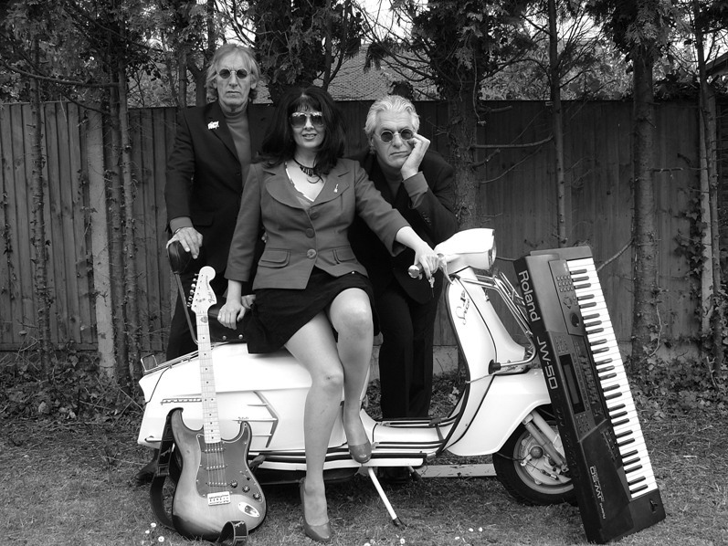 the Swinging 60s band-with Lambretta