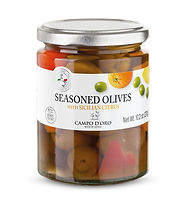 Citrus italian olives seasoned olives im