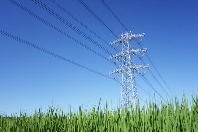 現在は巨大な送電網で電力が供給されている