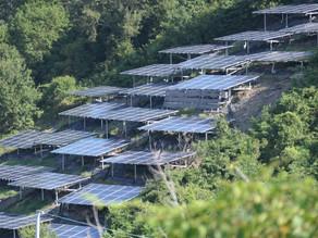 山地の太陽光発電施設に対する諸問題