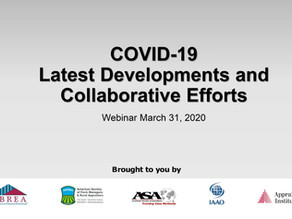 COVID-19をめぐる米国評価人団体の動き等