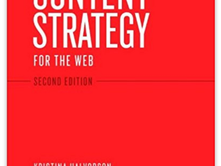 CONTENT STRATEGY BOOKSHELF:  5 BOOKS YOU NEED TO READ