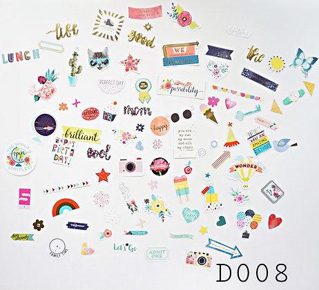 Sticker- chủ đề Birthday
