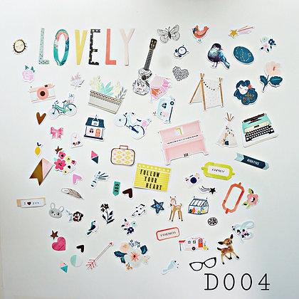 Sticker- chủ đề Lovely