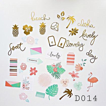Sticker - chủ đề Tropical
