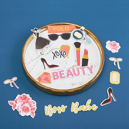 Sticker - chủ đề Beauty