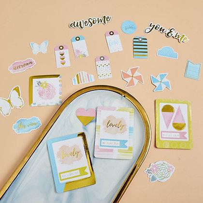 Sticker - chủ đề summer, you & me