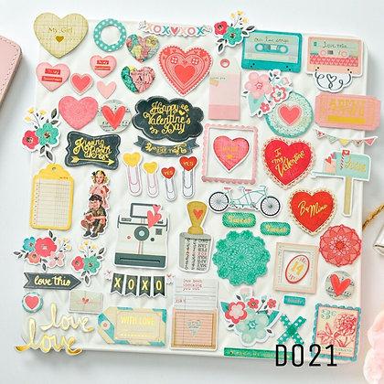 Sticker - chủ đề Love Vintage