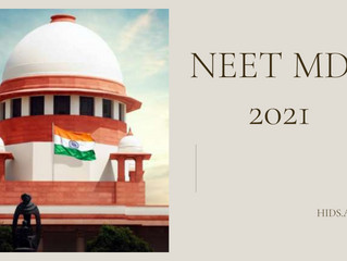 NEET MDS COUNSELLING 2021 - delay by MCC
