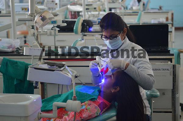 Patient treatmet in HIDS Paonta Sahib