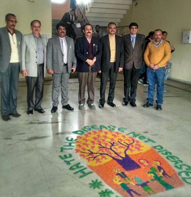 AIDS awareness  at HIDS Paota Sahib Dental College