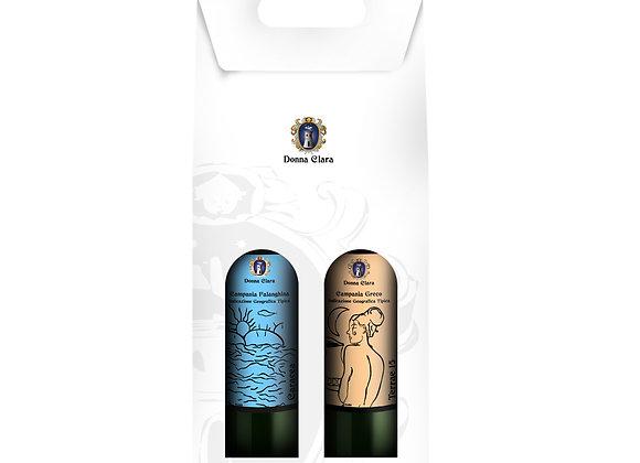 Confezione in cartone 2 bottiglie