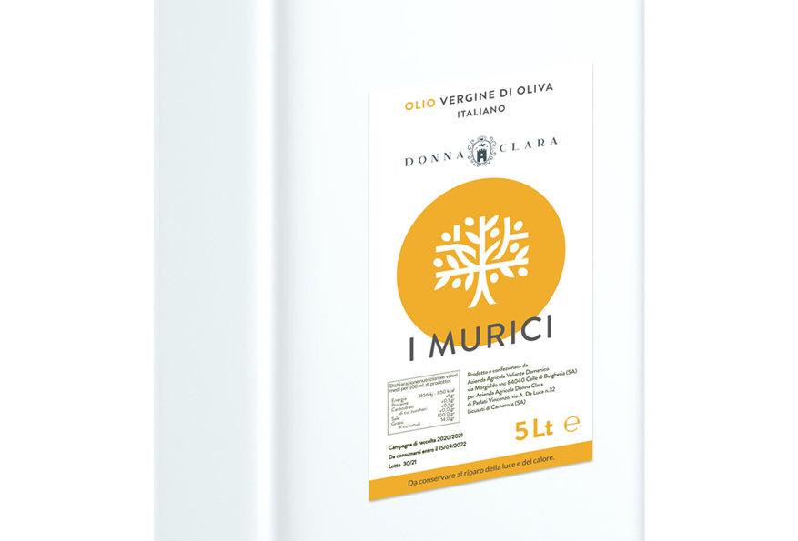MURICI - OLIO VERGINE DI OLIVA 5LT