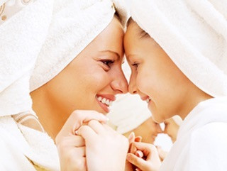 Kids like to Spa too! Check out our Mom