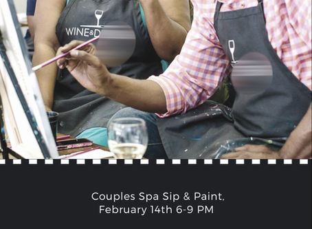 Save $10 on our Couples Spa & Paint Night!