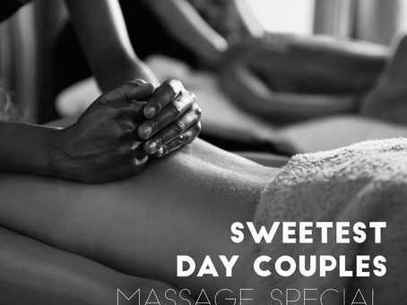 Celebrate Sweetest Day with Massage for two.