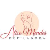 Logo Fundo Branco Alice Mendes Depilador