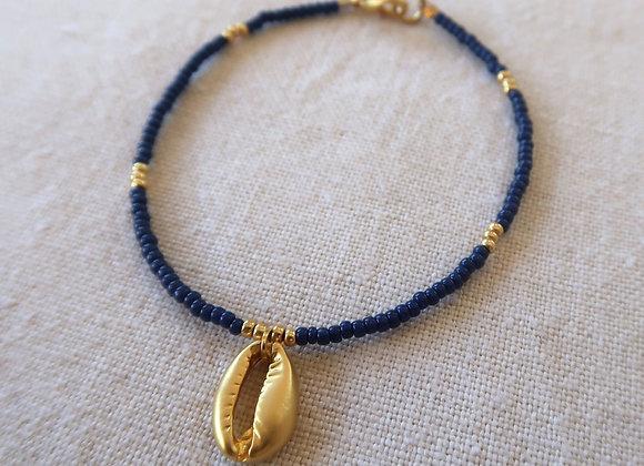 Navy & Gold Shell